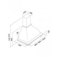 Falmec IRIS TULIP 60 Toulipier grezzo (600) неокр