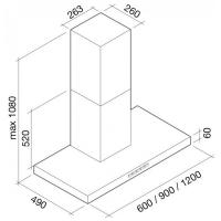 Falmec PLANE 120 inox (600)